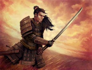 Lion Clan Samurai - Legend of the Five Rings